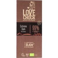 RAW chocolade extra puur 99% Biologisch