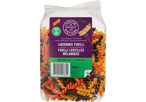 Your Organic Nature Linzen Mix Fusilli Biologisch