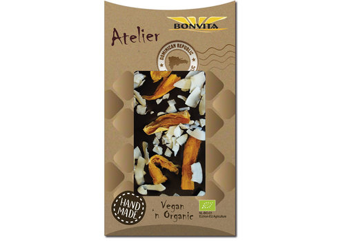 Bonvita Tropical Coco Dark Chocolate Biologisch