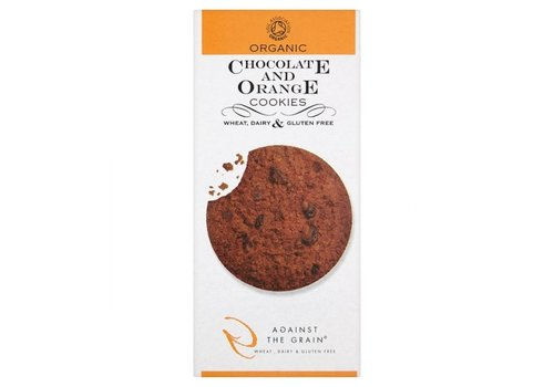 Against The Grain Chocolate & Orange Cookies Biologisch