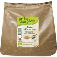 Halfvolkoren Rijstmeel 3kg Biologisch
