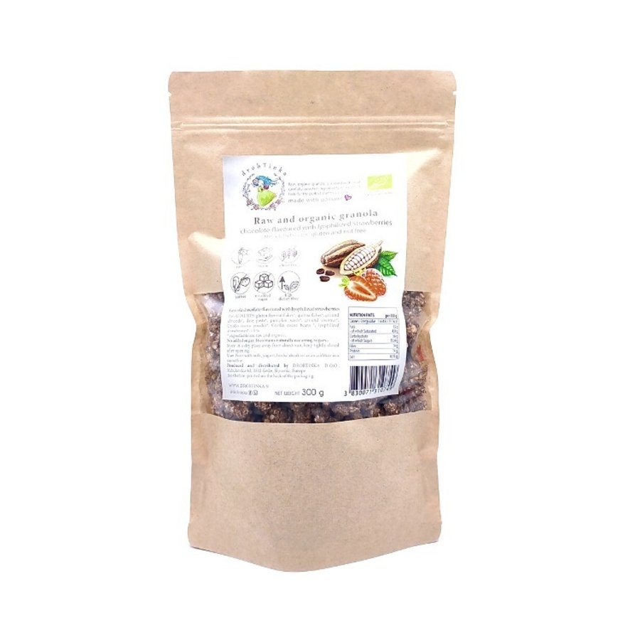 Havergranola Choco Aardbei Biologisch