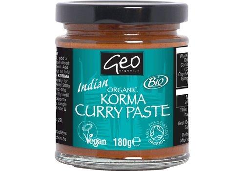 Geo Organics Currypasta Korma India Biologisch