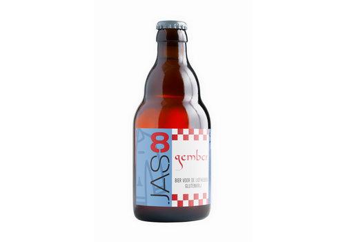 JAS Bieren JAS8 Gember 8% 33cl