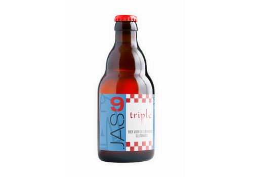 JAS Bieren JAS9 Triple 9% 33cl