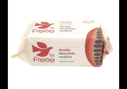 Doves Farm Double Chocolate Cookies Biologisch