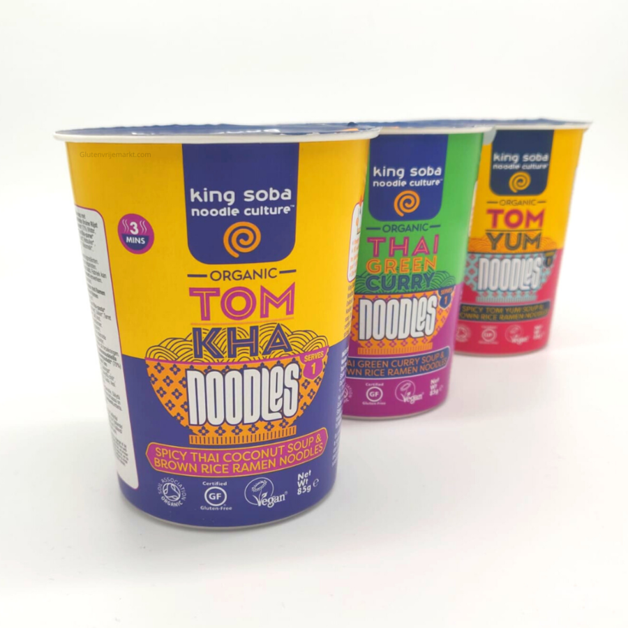 Tom Yum Instant Noodles Biologisch