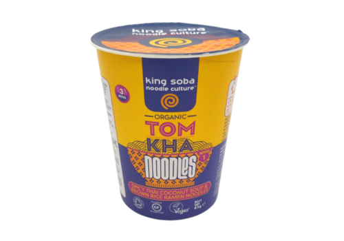 King Soba Tom Kha Instant Noodles Biologisch