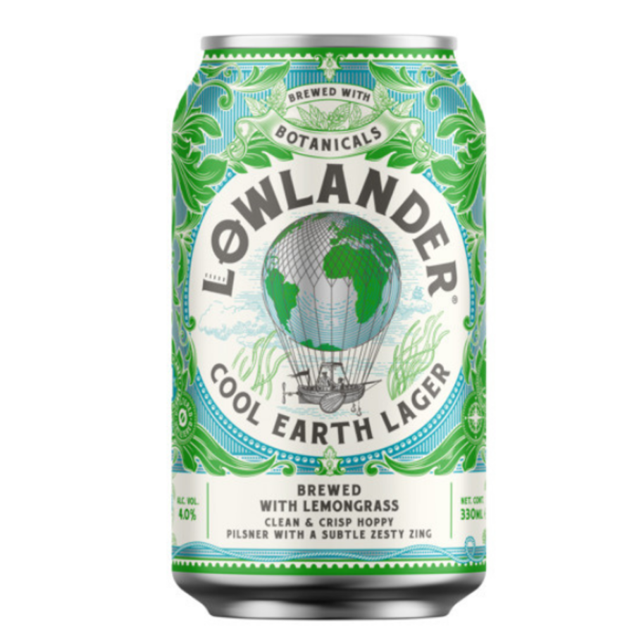 Cool Earth Lager 4,0%