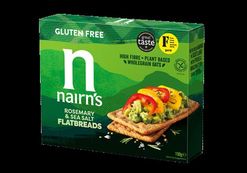Nairn's Flatbreads Rosemary & Seasalt