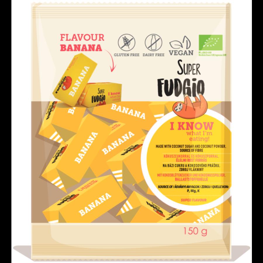 Fudge met bananensmaak