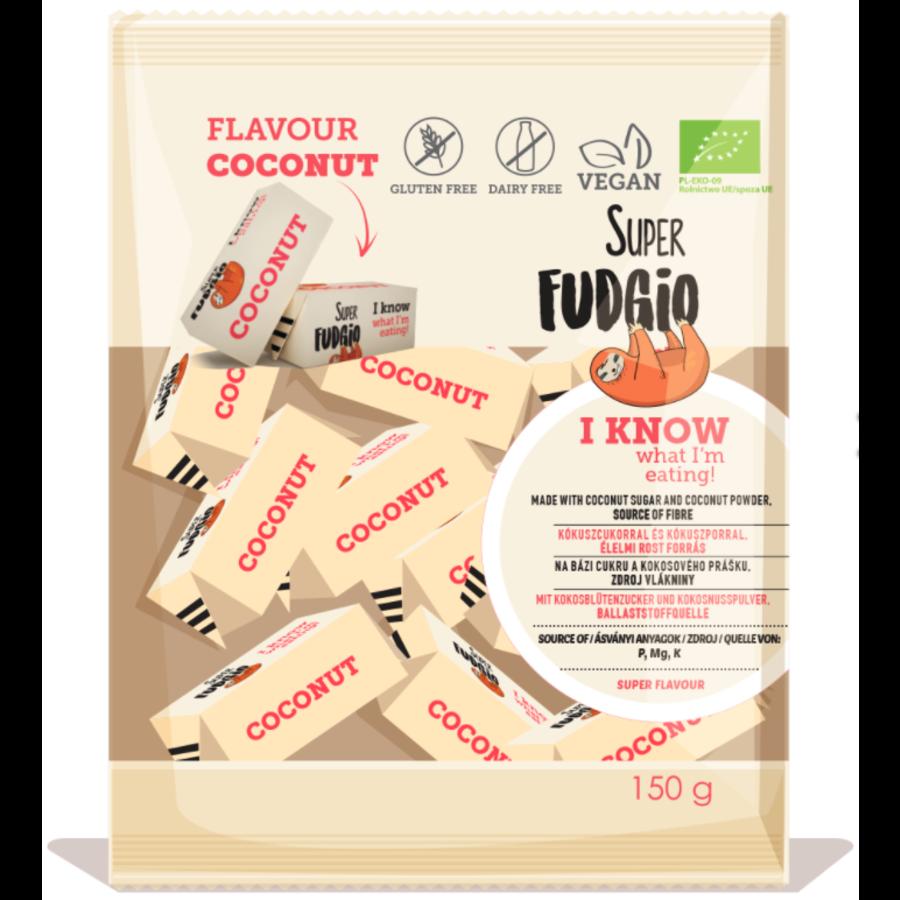 Fudge met kokosnootsmaak biologisch