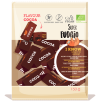 Fudge chocolade smaak biologisch
