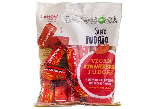 Super Fudgio Fudge met aardbeismaak biologisch