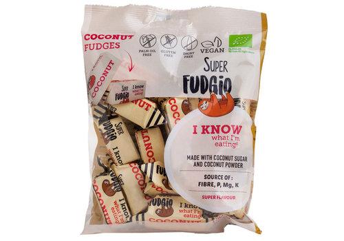 Super Fudgio Fudge met kokosnootsmaak biologisch