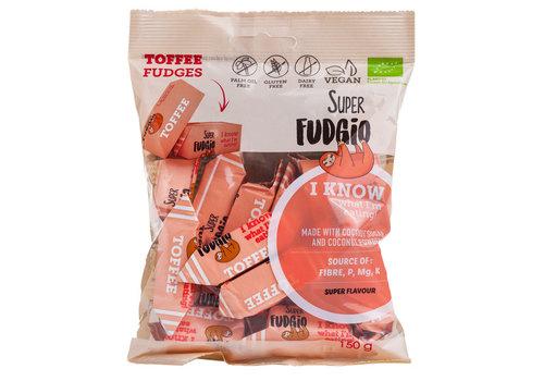 Super Fudgio Fudge Toffee smaak biologisch