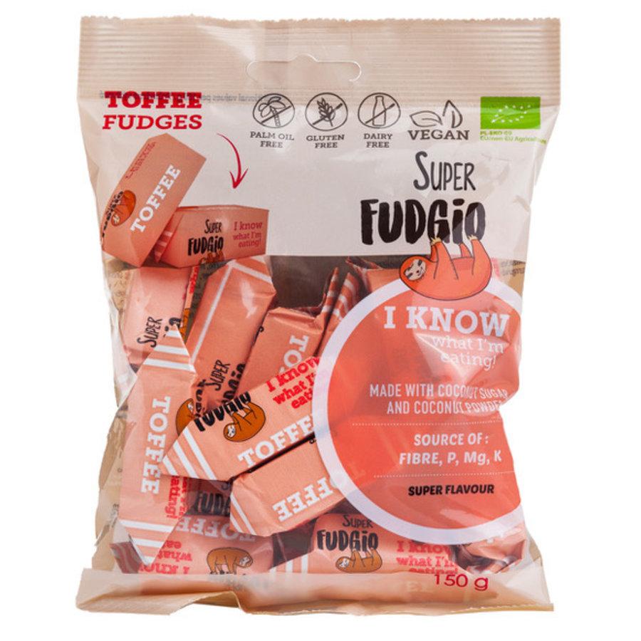 Fudge Toffee smaak biologisch