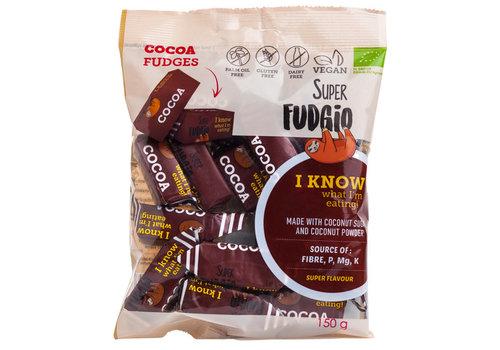 Super Fudgio Fudge chocolade smaak biologisch