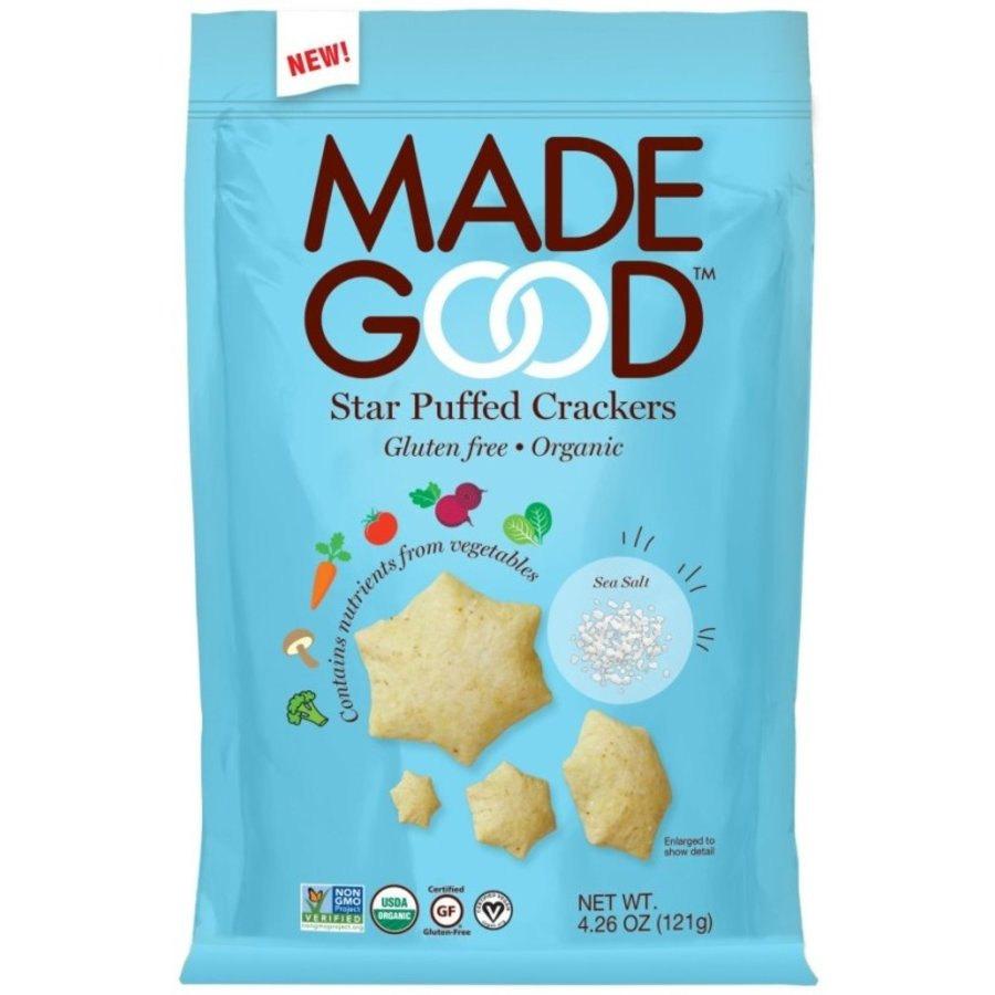 Star Puffed Crackers Sea Salt Biologisch