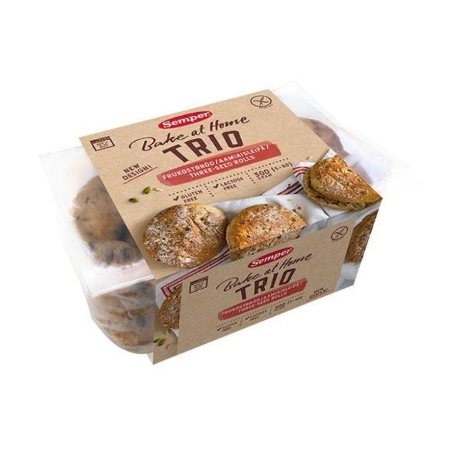 Trio Ontbijtbroodjes 5 stuks