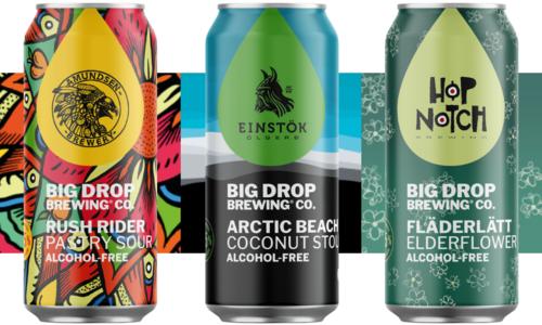 Ontdek de Limited Edition smaken van Big Drop!
