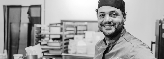 Mirko Baldi, oprichter van Ciao Gluten