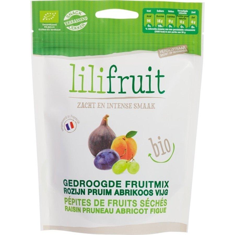 Gedroogde fruitmix biologisch