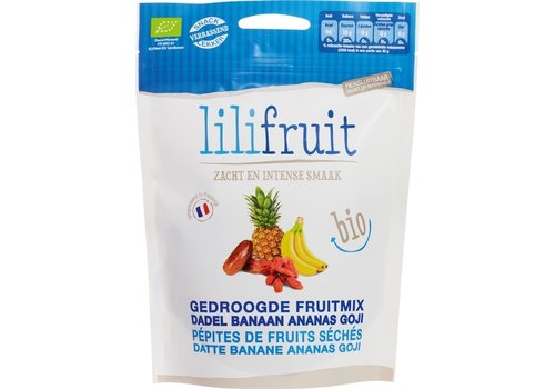 Lilifruit Gedroogde Fruit Exotische Mix Biologisch