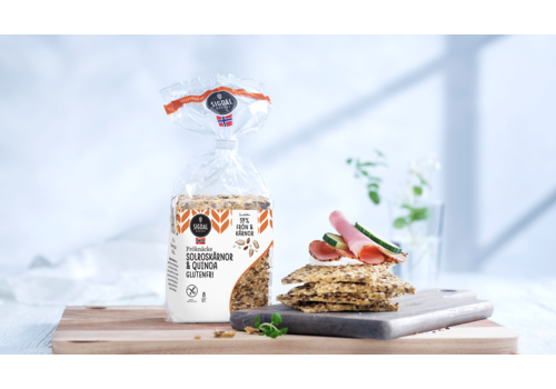 Sigdal Knäckebröd Zonnebloem & Quinoa