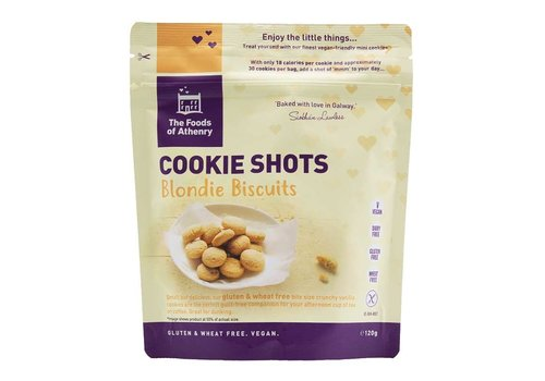 Health Delicious Cookie Shots Blondie Biscuits