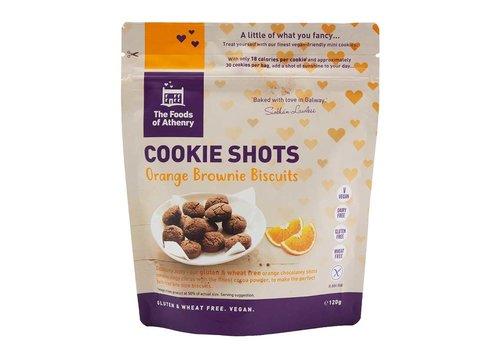 Health Delicious Cookie Shots Orange Brownie Biscuits