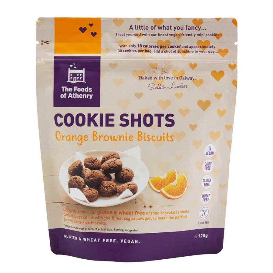 Cookie Shots Orange Brownie Biscuits