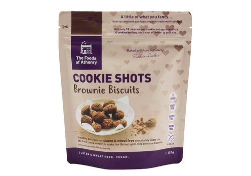 Health Delicious Cookie Shots Brownie Biscuits