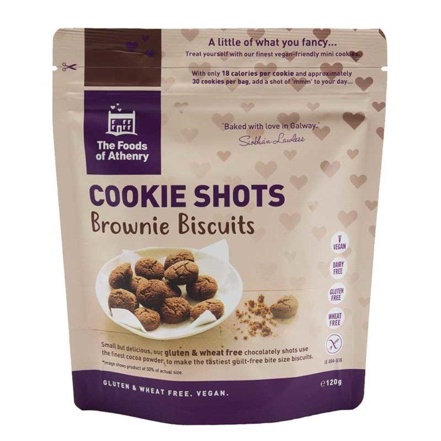 Cookie Shots Brownie Biscuits