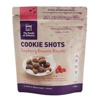 Cookie Shots Raspberry Brownie Biscuits