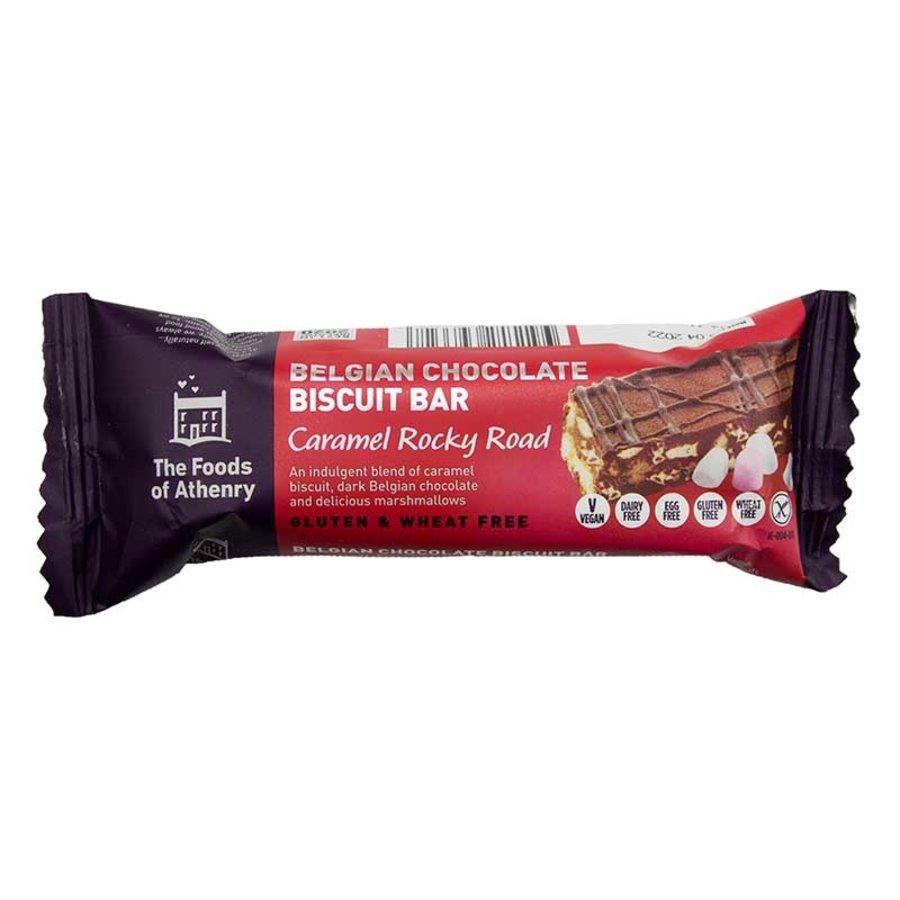 Belgian Chocolate Biscuit Bar Caramel Rocky Road