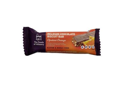 Health Delicious Belgian Chocolate Biscuit Bar Opulent Orange