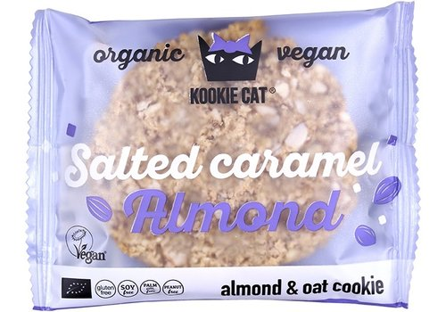 Kookie Cat Gezouten Caramel Amandel Biologisch