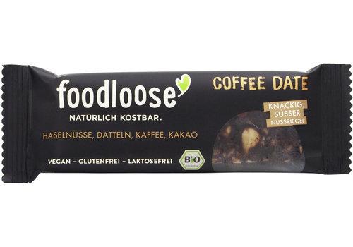 Foodloose Reep Koffie Dadel Biologisch