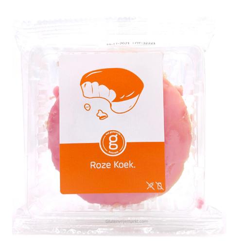 Het Glutenvrije Huismerk Roze Koek