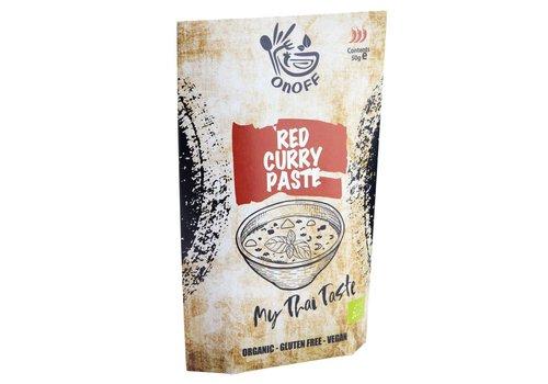 Onoff Spices Thaise Rode Currypasta Biologisch