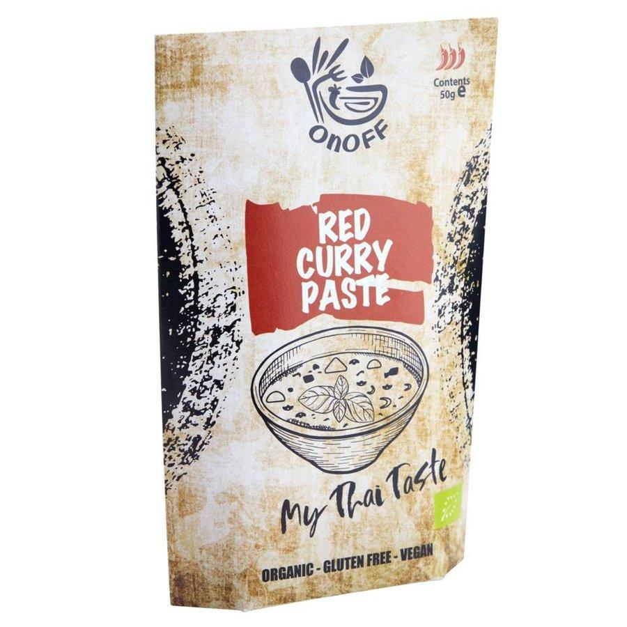 Thaise Rode Currypasta Biologisch