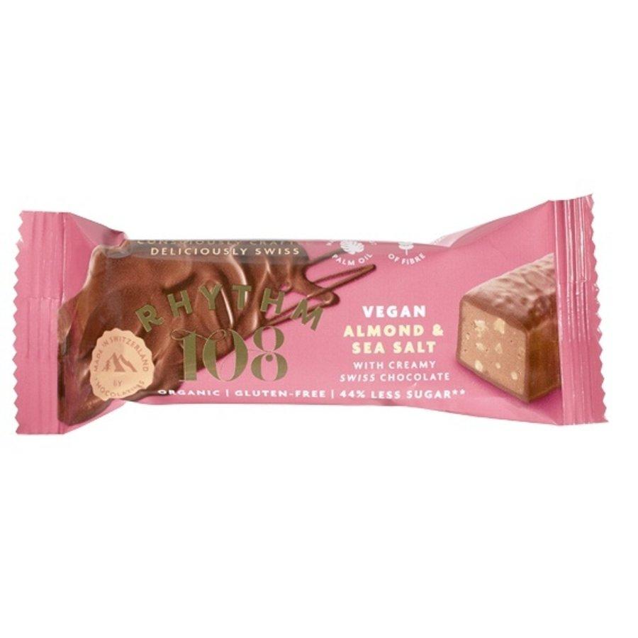 Chocoladebar Amandel Zeezout Biologisch