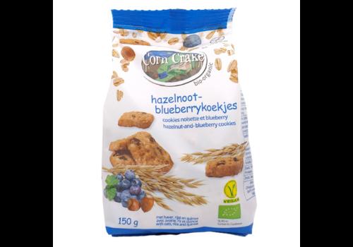 Corn Crake Hazelnoot-Blueberrykoekjes Biologisch