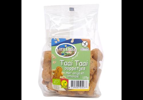 Corn Crake Taai Taai Poppetjes met Anijs en Amandel Biologisch
