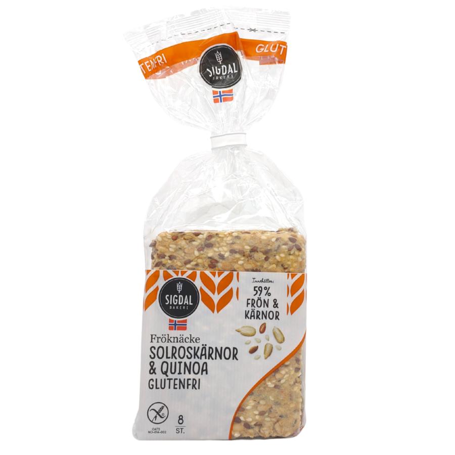 Knäckebröd Zonnebloem & Quinoa