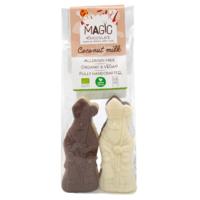 Chocolade Sinterklaasjes Duo Biologisch 4 stuks