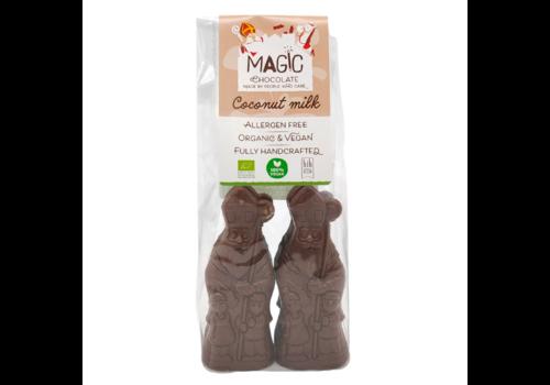 Magic Chocolate Chocolade Sinterklaasjes Melk 47% Biologisch 4 stuks