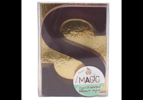 Magic Chocolate Chocoladeletter Puur 60% Biologisch
