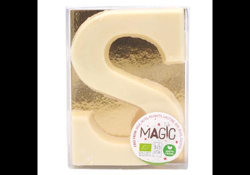 Magic Chocolate Chocoladeletter Wit Vegan Biologisch